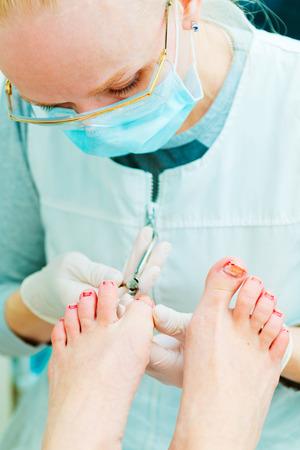 Manicure in process photo