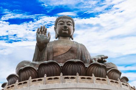 Statue of Buddha in Hong-Kong