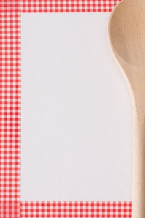 cookbook: wooden spoon
