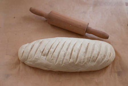 baking bread photo