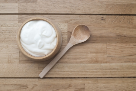 Natural Yogurt Stock Photo - 24416249