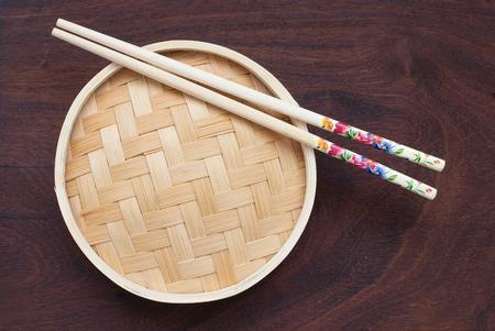 cha: traditional bamboo pot