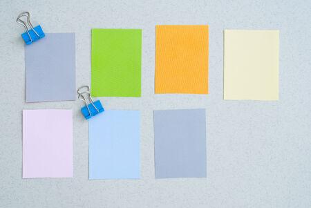 colored post photo
