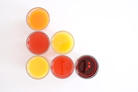 variety of juices photo