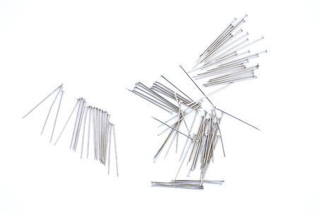 metapher: needles Stock Photo
