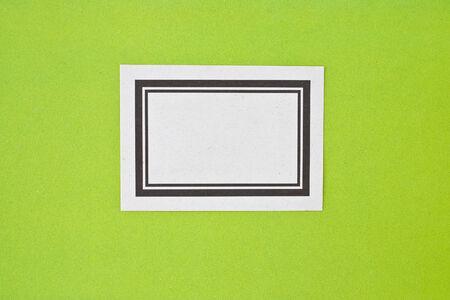 moleskine: Vintage Label Stock Photo
