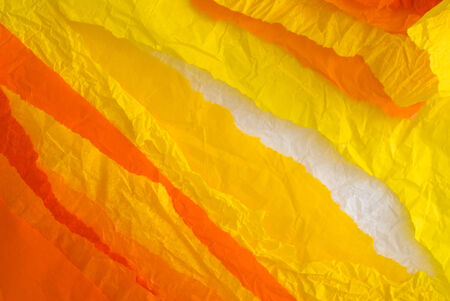orange and yellow paper design photo