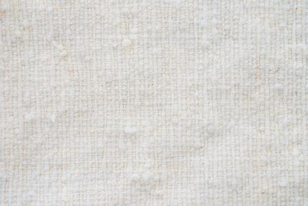 close p: white wool