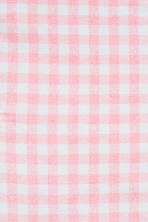 gingham: checkered pink gingham