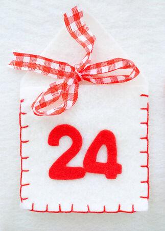 christmas decoration - advent calendar photo