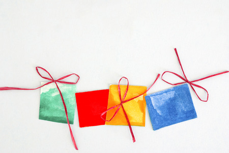 colored gifts photo