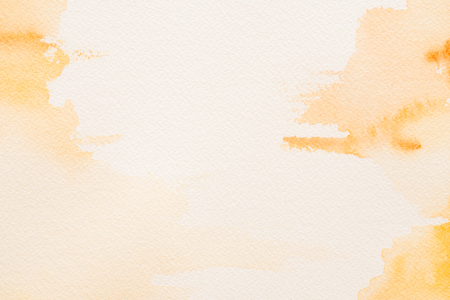 beige: yellow watercolor background - text space
