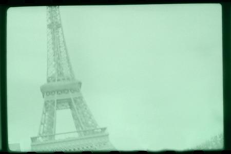 tour eiffel: retro photo frame - tour Eiffel - Paris souvenir