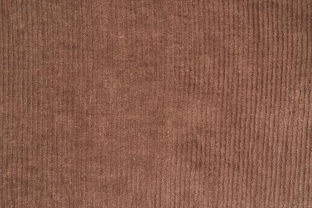 velvet dress: brown corduroy