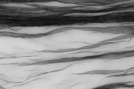 close up of transparent black tulle
