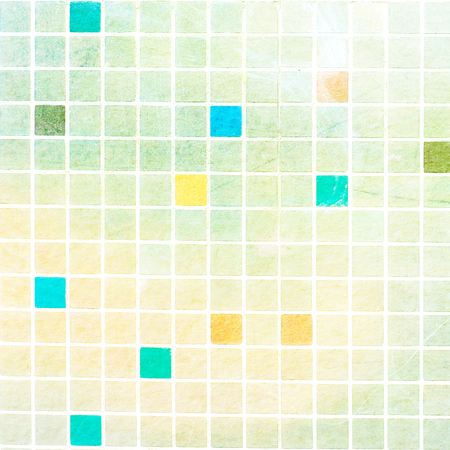 squared: squared colorful tiles - close up of abstract textured background Stock Photo