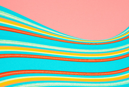 paper background - waves - graphic background Stock Photo
