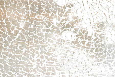 wrack: close up of colored broken glass - abstract textured background Stock Photo