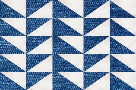jeans texture: geometric print on jeans texture