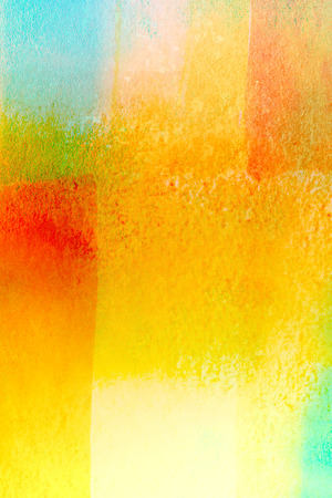 painterly: colorful watercolors - geometric background - graphic design