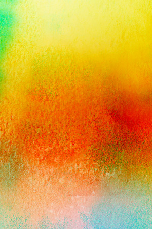 aquarell: colorful watercolors on textured paper - abstract backround