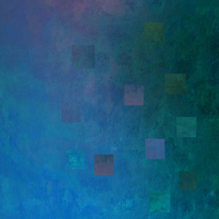 abstract backround: colorful mosaik watercolors on textured paper - abstract backround Stock Photo