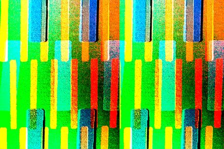 paper art: colorful abstract background - stripes on paper background