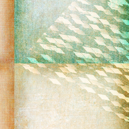 rhombic: print squares on paper texture - abstract graphic design