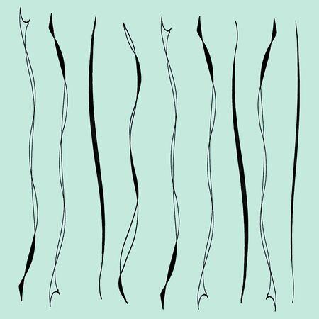 pastel tone: hand drawn bow doodle on pastel tone background