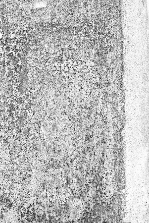 oxidized: oxidized material - close up of a textured oxidized surface background design - black and white