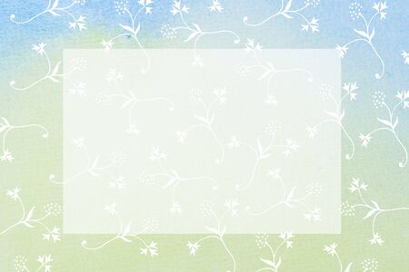 hand painted frame - abstract background - text space