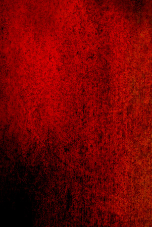 oxidized: dark red oxidized material - close up of a textured oxidized surface - background design