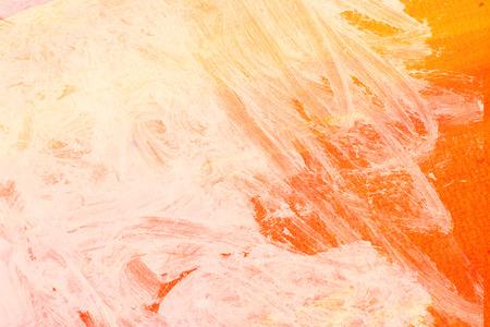 pastel tone: yellow brush strokes - pastel tone Stock Photo