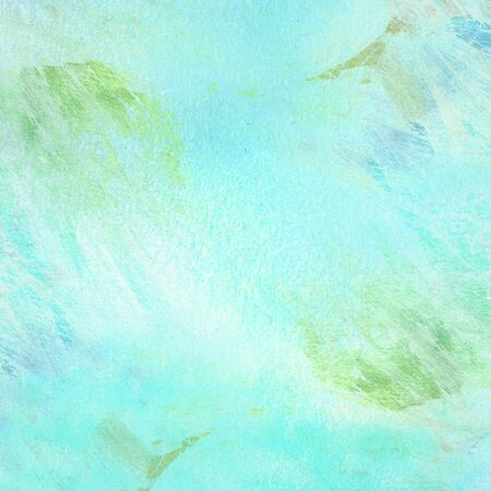 white painting brushes on blue color background - hand painted brush strokes