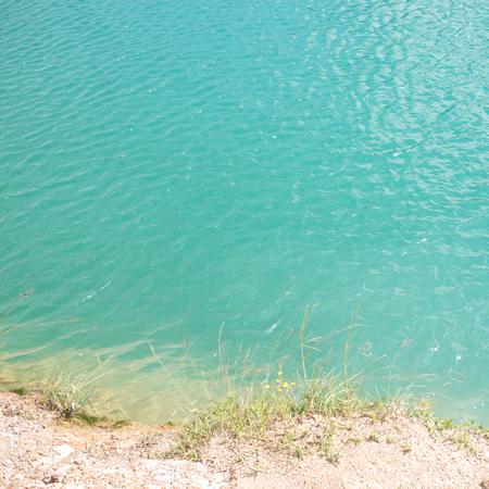 Superficie de agua azul - cerca de textura de agua Foto de archivo - 80306197