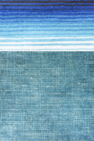wool and linen textile - fashion background - close up of fabric mix Stock Photo