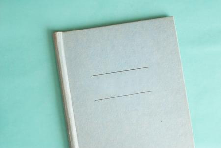 Scrapbook Cover Retro Look Close Up Of A Vintage Scrapbook Stock