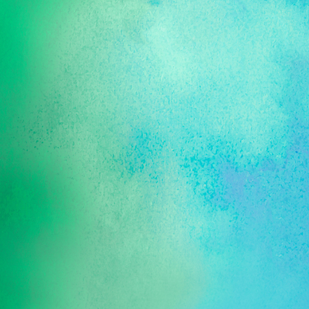 turquoise watercolors on textured paper surface - design element - abstract background Stock Photo