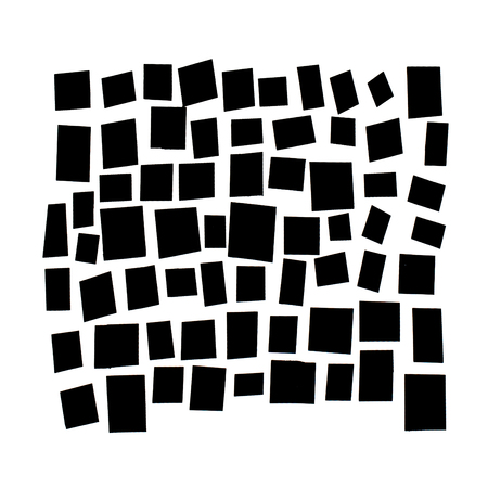 black and white pattern - abstract background design