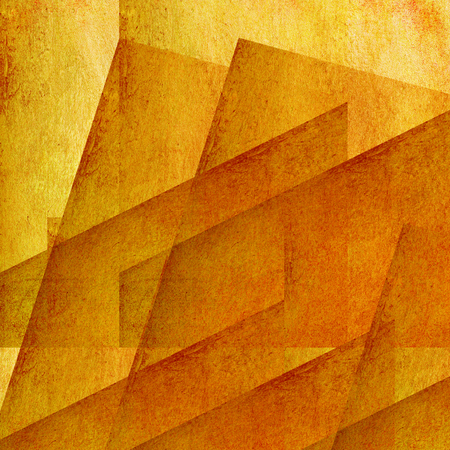 orange wall - graphic design Stock Photo