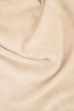 close up of cashmere surface - studio shot from above