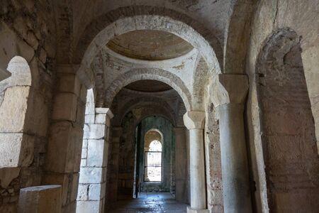 Interior of ancient Byzantine Greek Church of Saint Nicholas the Wonderworker located in the modern town of Demre, Antalya Province, Turkey
