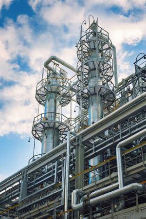 industria quimica: Química fábrica de caucho