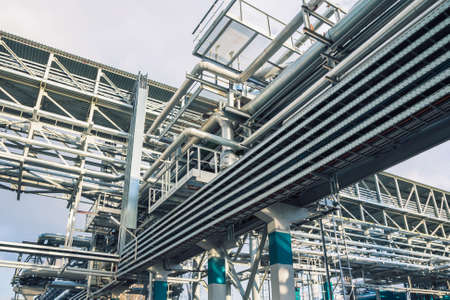 the model of chemical factory producing synthetic rubber