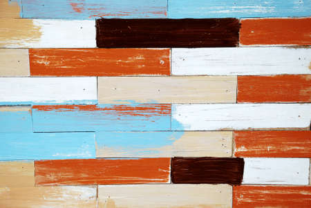 Colorful wood board photo