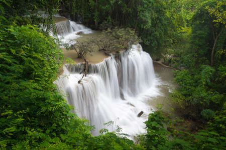 Huay Mae Khamin waterfall Stock Photo - 24642666