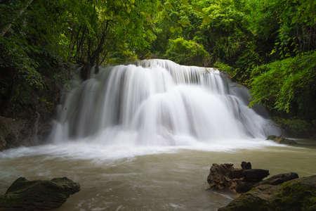 Huay Mae Khamin waterfall Stock Photo - 24695227