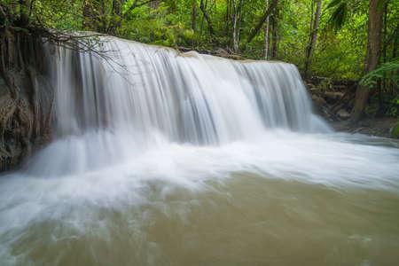 Huay Mae Khamin waterfall Stock Photo - 24695228
