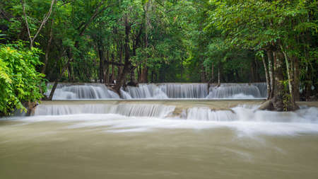 Huay Mae Khamin waterfall Stock Photo - 24695229