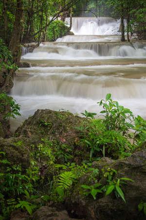 Huay Mae Khamin waterfall Stock Photo - 24695230